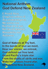 Anthem Chart Nz National Anthem Chart Maori Words Maori Songs Maori