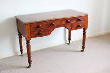 mahogany hall table. Antique Mahogany Hall Table ,Side/Dressing Table, Writing Console Table.
