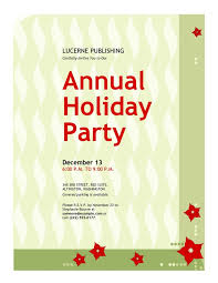 Company Christmas Party Invitation Templates Quinnbrettler Com