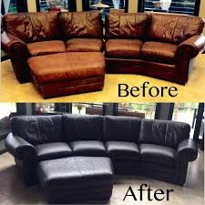 dye a leather couch sofa repair kit canadian tire living rooms and