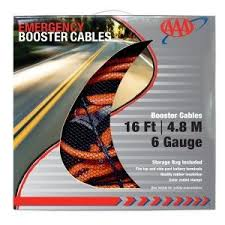 Jumper Cable Size Chart Aaa Heavy Duty 6 Gauge Jumper Cables Stuff To Buy Cable