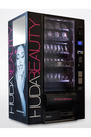 Makeup Vending Machine Amazing Huda Beauty Launches New Vending Machines
