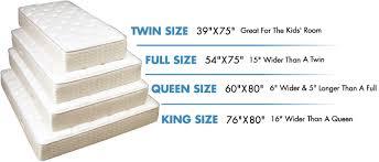 twin size mattress. Common Bed \u0026 Mattress Sizes Twin Size
