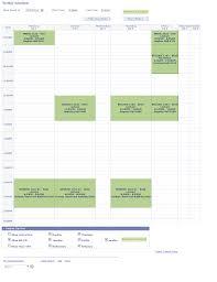 My Weekly Schedule View Your Class Schedule Assist Online Help