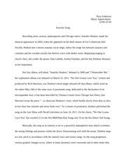 music study resources 2 pages favorite song essay
