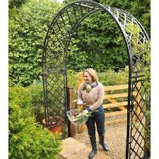 Small Picture Metal Arches Garden Structures from Allotment Shop