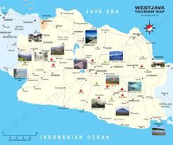 west java map  peta jawa barat