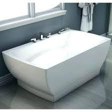 60 x 36 bathtub bathtub believe x free standing mass air rectangular bathtub with center drain
