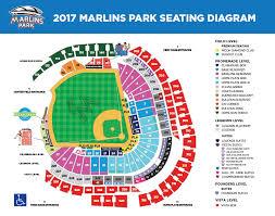Miami Marlins Interactive Seating Chart Marlins Park Seating Map Compressportnederland