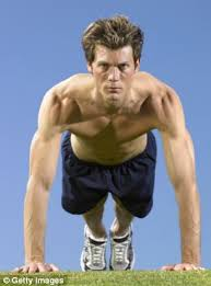 strength 23 per cent failed the strength and endurance tests that include push ups