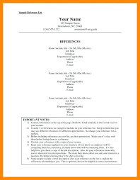Resume Reference Page Examples Employment Template And Professional ...