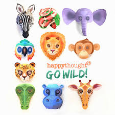 There are 17 (or 18 depending on which time i counted them i actually made two different sets for these. Printable Wild Animal Masks Download Easy To Make Mask Templates Now