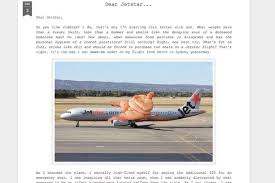 Letter To Airline Rich Wisken Complaint Letter To Jetstar Airline After Being Seated