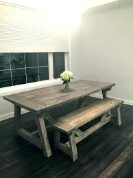 rustic kitchen tables awesome picnic table intended for 14