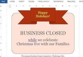 Business Closed For Labor Day Sign Template Holiday Signs Closing