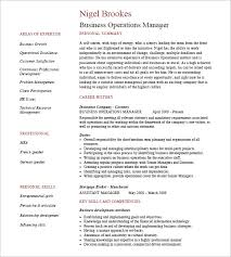 Business Resume Format Awesome 48 Business Resume Templates Free Samples Examples Formats