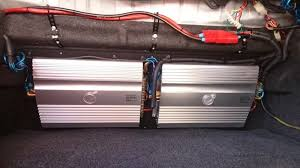 diy car amp rack image