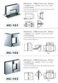 frameless glass shower door hinges glass door hinges shower hinge adjustment choice image doors design gallery