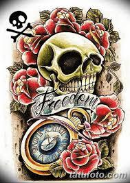 олд скул тату эскизы мужские 09032019 020 Tattoo Sketches