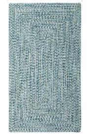 countryside rugs blue sea pottery braided indoor outdoor rug