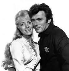 Image result for inger stevens and eastwood in hang 'em high color