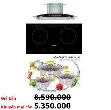 Bếp từ Canzy CZ I88 Malaysia tặng Hút mùi - Siêu Thị Bếp Hải Phòng - Bếp  Đức Ý Tây Ban Nha Giá Rẻ