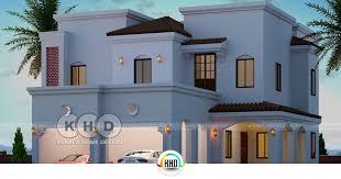 arabian style villa with 5 bedrooms