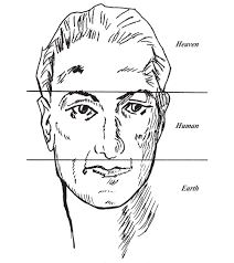 Chinese Medicine Face Reading Chart Chinese Face Reading What Your Face Says About Your Future