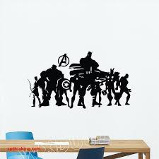 marvel wall decals avengers wall decals new iron man wall sticker dc marvel poster superhero marvel wall decals