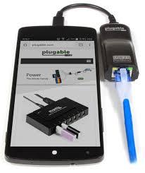 usb otg micro b to ethernet adapter plugable 2 512