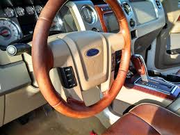 ford king ranch steering wheel