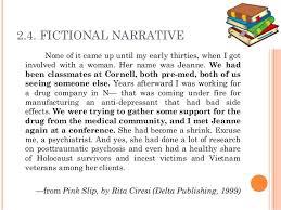 narrative essay examples fictional narrative essay examples