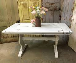 Rustic Round Kitchen Tables White Kitchen Table Rustic Dining Room Table Painted Furniture
