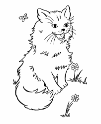 Coloring pages are fun for children of all ages and are a great educational tool that helps children develop fine motor skills, creativity and color recognition! Free Printable Cat Coloring Pages For Kids