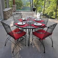 wrought iron outdoor dining table off 56