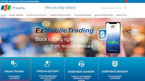 Instructions On Eztrade Online Trading