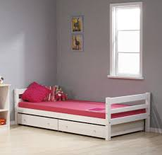 Pink Single Bed Designs For Girl of white single headboard Russellbain