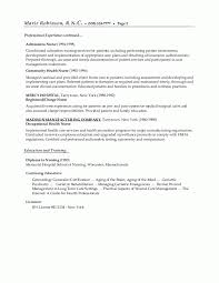 Nursing Resume Objective Examples 84 Images Sample Objective