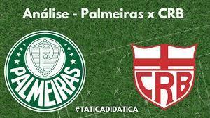 Palmeiras x CRB - Analise pré-jogo - YouTube