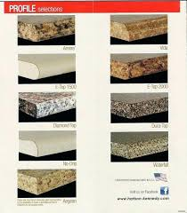 edges laminate metal formica countertop styles edge choices