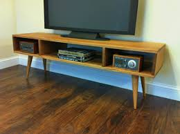 Modern Entertainment Console Mid Century Modern Stand Media Console With  Open Storage Home Improvement Moderne Muse