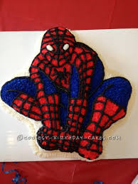 12 Cool Homemade Spiderman Cake Ideas Coolest Birthday Cakes