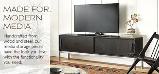 Modern Media Storage Modern Living Room Furniture Room & Board