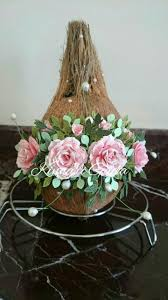 Decorative Nariyal Designs Nariyal Decoration For Wedding Wedding Gift Baskets
