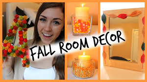 Diy Fall Decorations Diy Easy Fall Room Decor Ways To Decorate Seasonbeauty97 Youtube