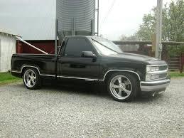 New wheels and more drop on my 91 Silverado - Chevy Trailblazer SS ...