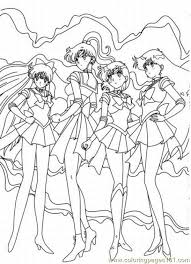 Small Picture Sailor Moon4 Coloring Page Free Sailor Moon Coloring Pages