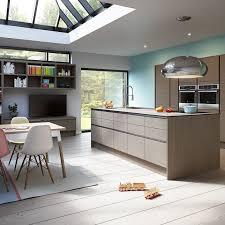 modern kitchen. Integra Alpine Graphite Modern Kitchen