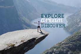 Explore Dream Discover Quote Best of Dubai Travel Blogger IKen Kennethsurat Travel Quote EXPLORE