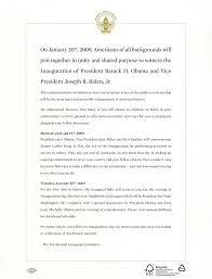 President Inauguration Culture amp; Invitation Google — Obama Arts